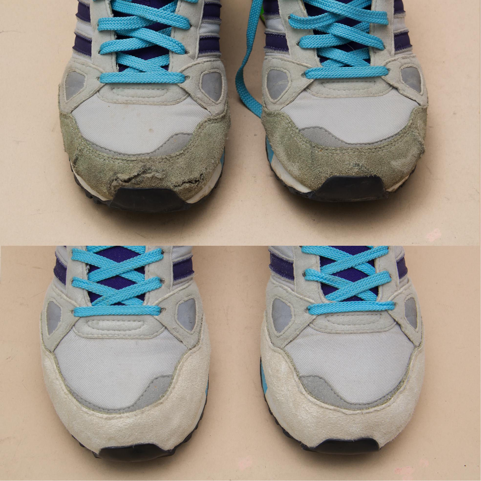 Ремонт рваных кроссовок