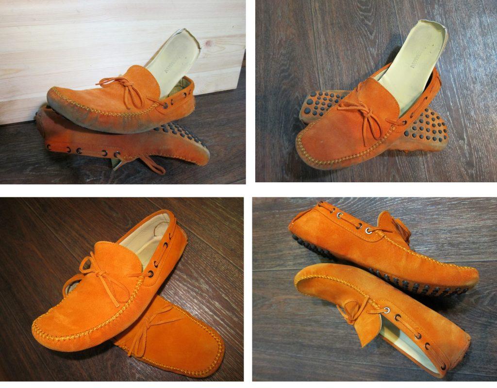 Чистка обуви - Мокасины