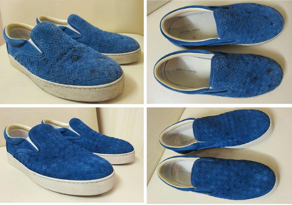 Чистка обуви - Слипоны