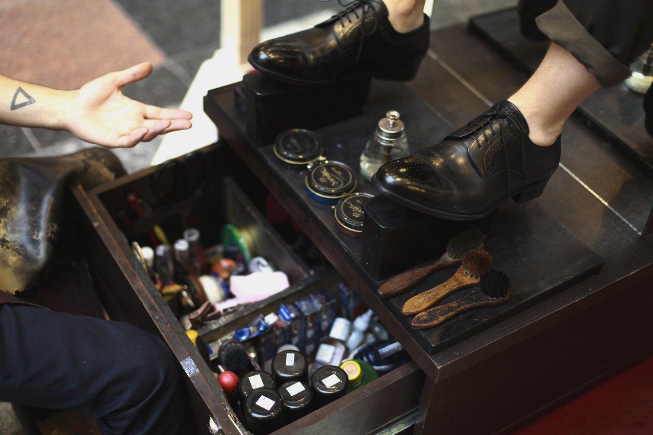 Чистка обуви в Москва-Сити